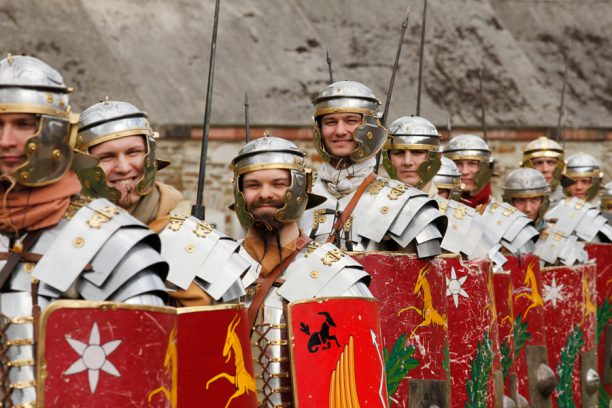 Römerspektakel Kaiserthermen